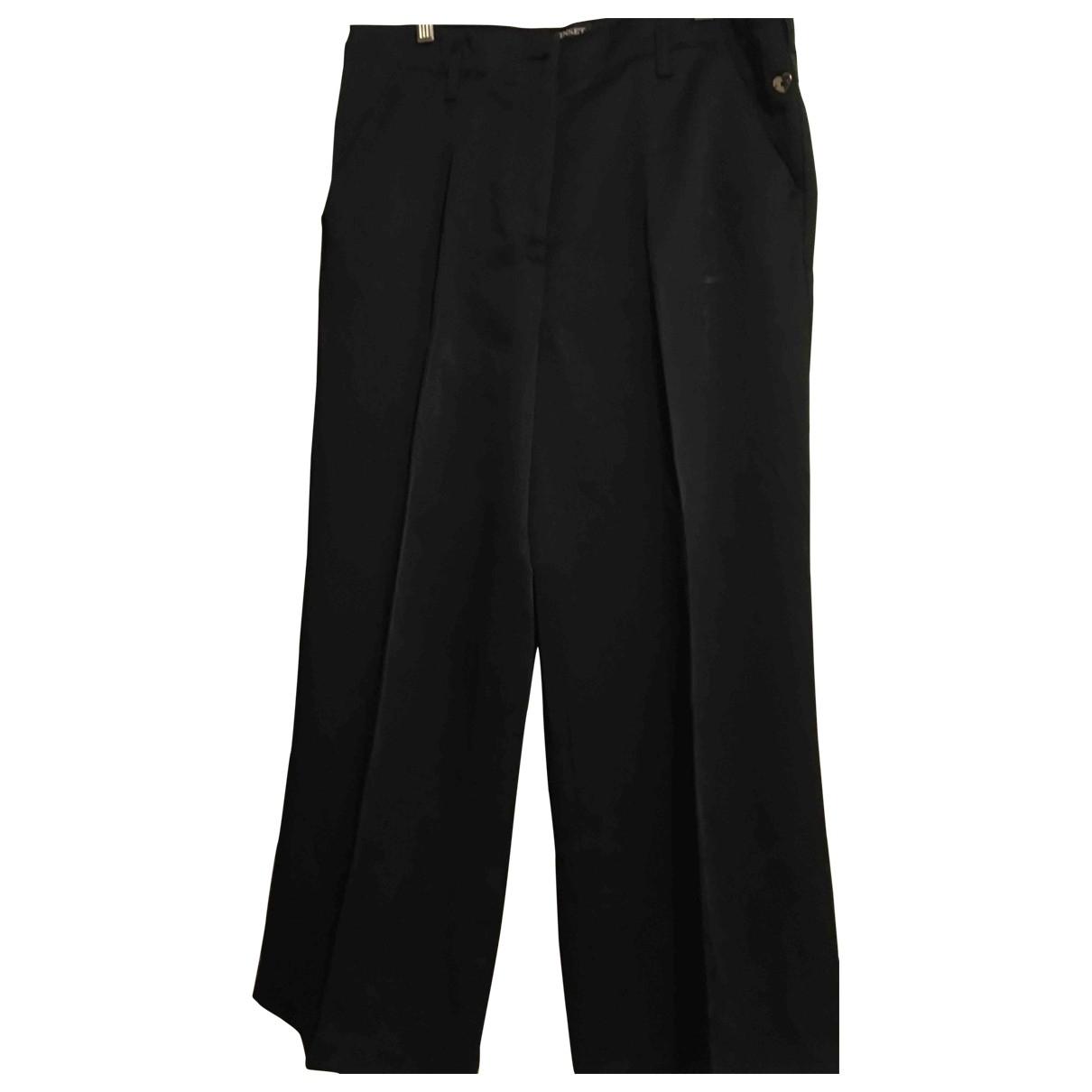 Twin Set \N Black Trousers for Women 46 IT