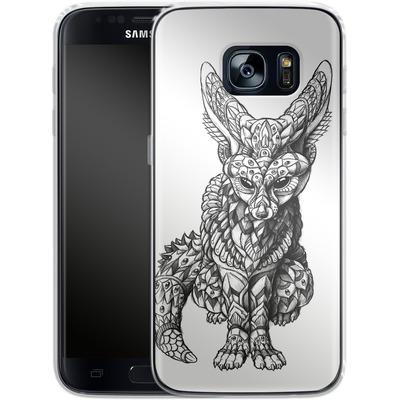 Samsung Galaxy S7 Silikon Handyhuelle - Fennec-Fox von BIOWORKZ