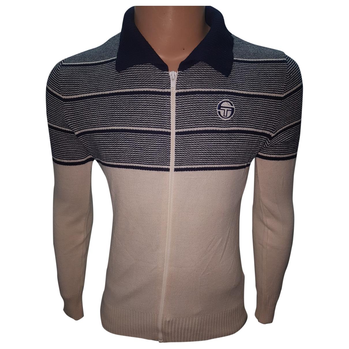 Sergio Tacchini \N Blue Wool Knitwear & Sweatshirts for Men 50 IT
