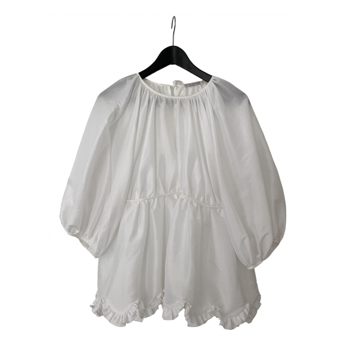 Cecilie Bahnsen \N White  top for Women 8 UK