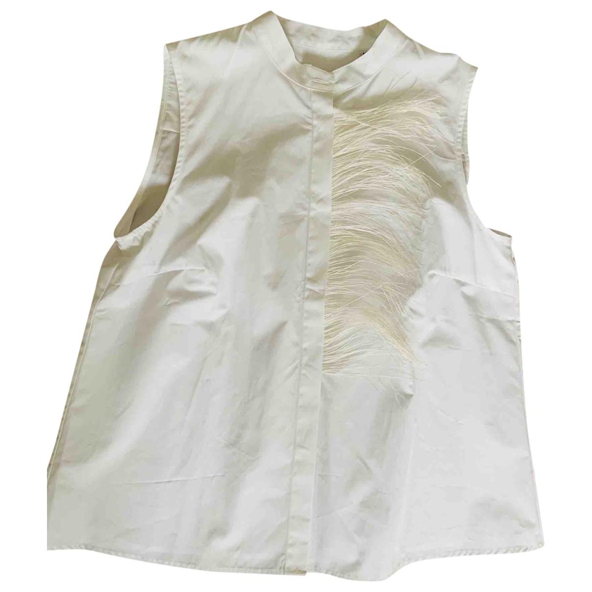 Sara Roka \N White Cotton  top for Women 44 IT