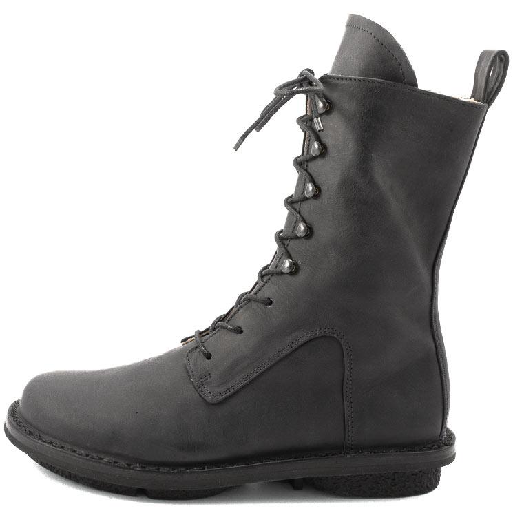 Trippen, Concrete f Closed Women's Bootees, black Größe 40