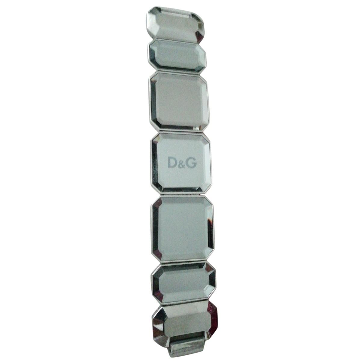 Dolce & Gabbana \N Armband in  Grau Stahl