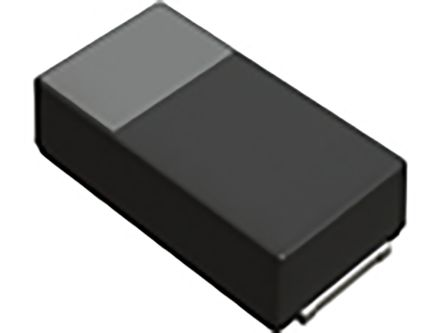 ROHM Tantalum Capacitor 100μF 6.3V dc Tantalum ±20% Tolerance , TCT (100)
