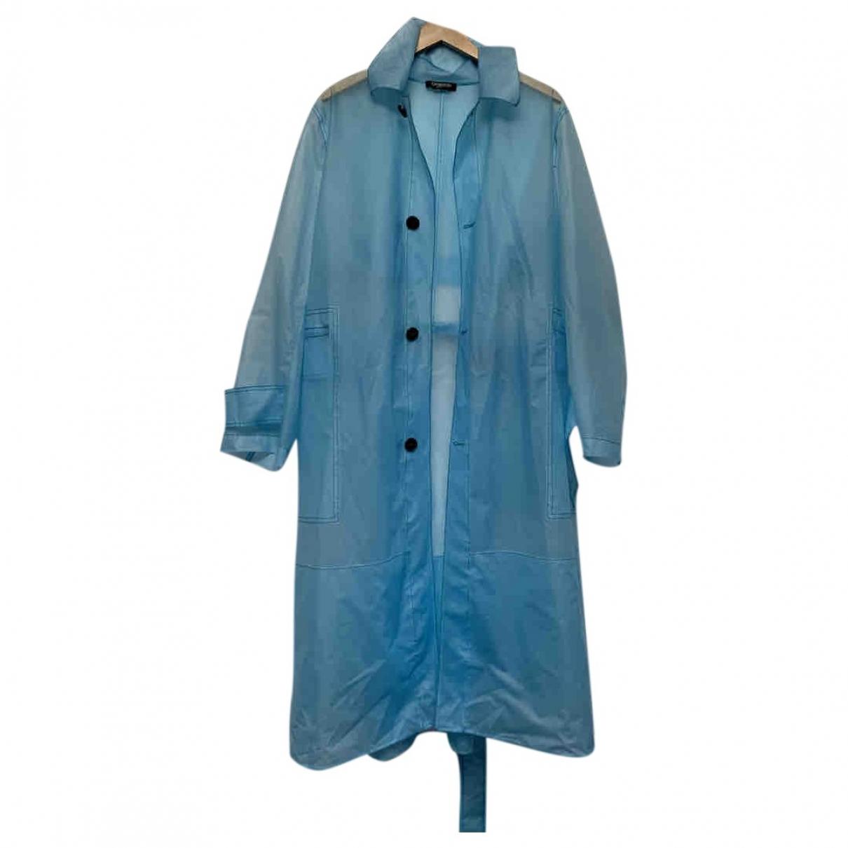 Abrigo en Sintetico Azul Calvin Klein 205w39nyc