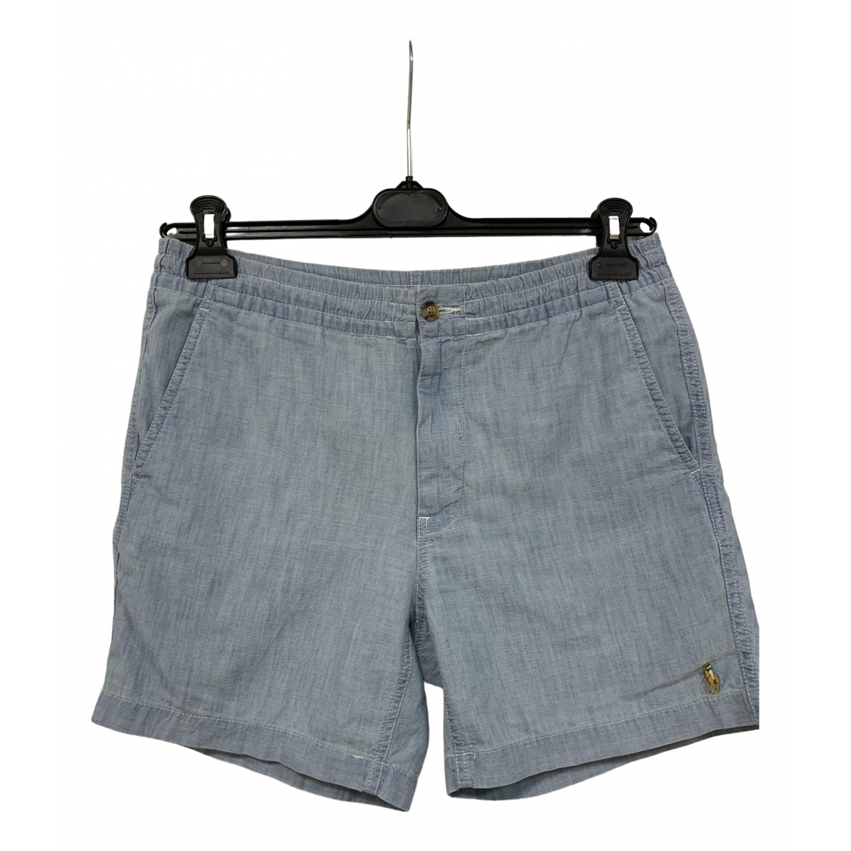 Polo Ralph Lauren \N Blue Cotton Shorts for Men S International