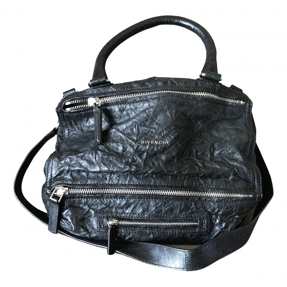 Givenchy Pandora Black Leather handbag for Women N