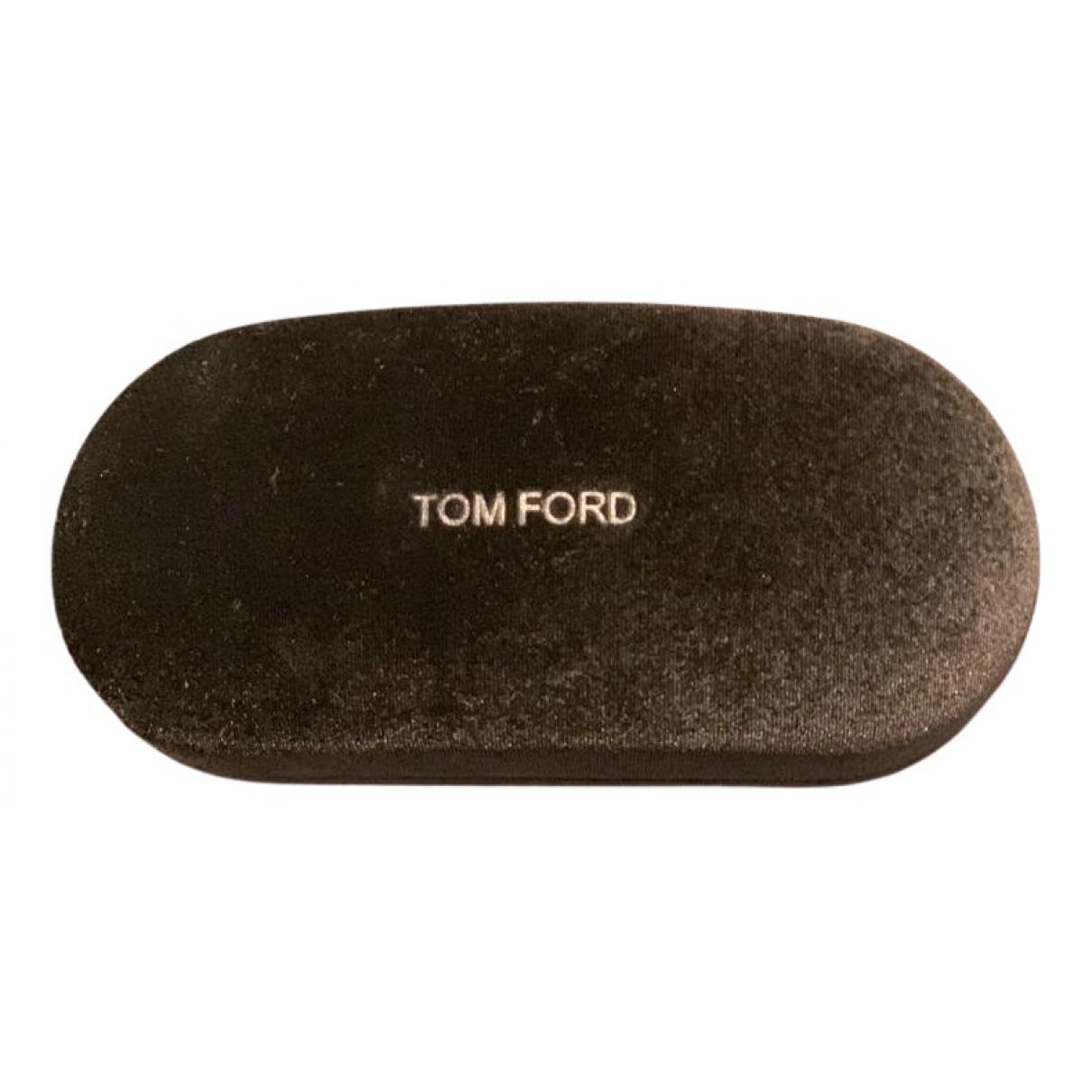 Tom Ford - Petite maroquinerie   pour femme en velours - marron