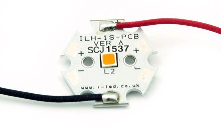 Intelligent LED Solutions ILS ILH-S501-AMER-SC211-WIR200., DURIS S5 PowerStar Circular LED Array, 1 Amber LED