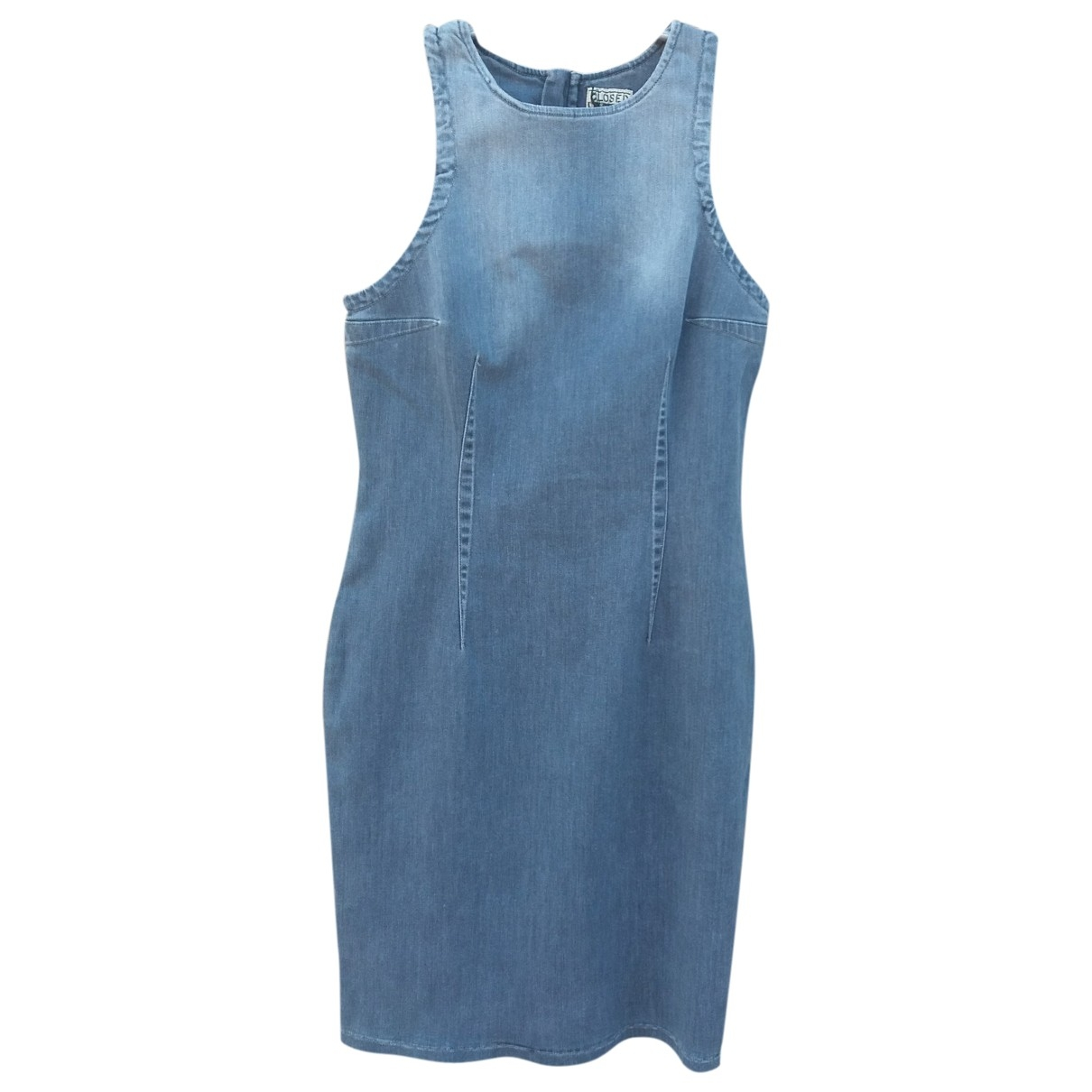 Closed \N Grey Cotton - elasthane dress for Women M International