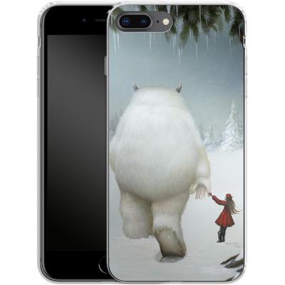 Apple iPhone 7 Plus Silikon Handyhuelle - Hopeless Wanderer von Dan May