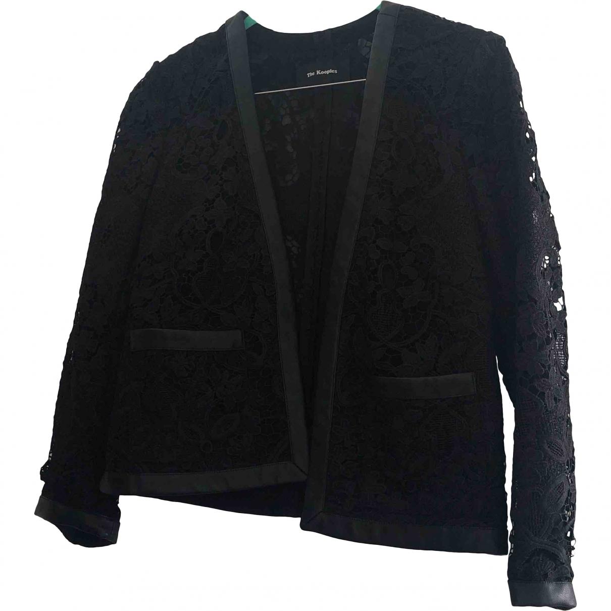 The Kooples \N Black jacket for Women 34 FR
