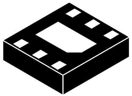 Analog Devices LTC2450IDC#TRMPBF, 16-bit Serial ADC, 6-Pin DFN (2)