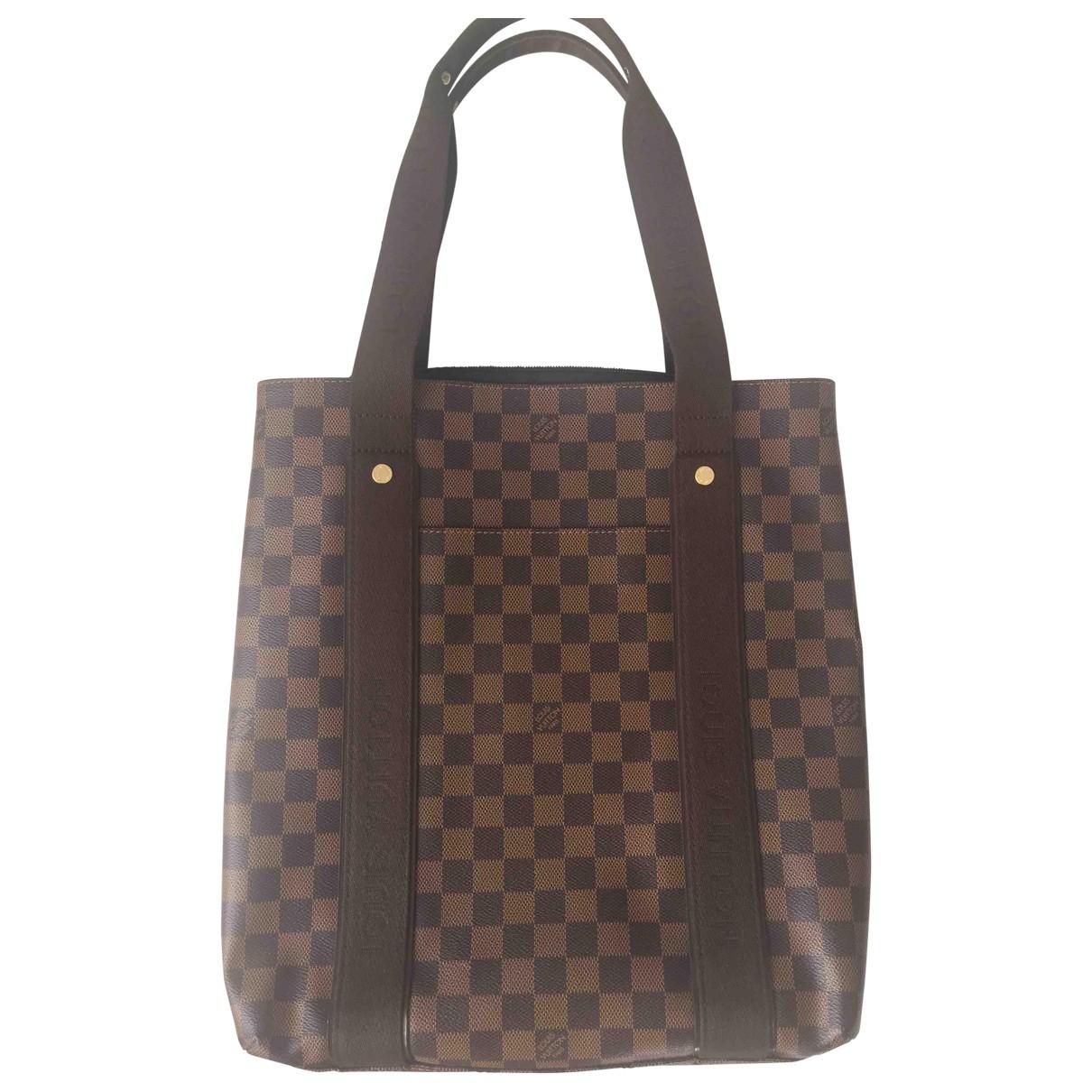 Louis Vuitton Beaubourg Brown Cloth handbag for Women \N