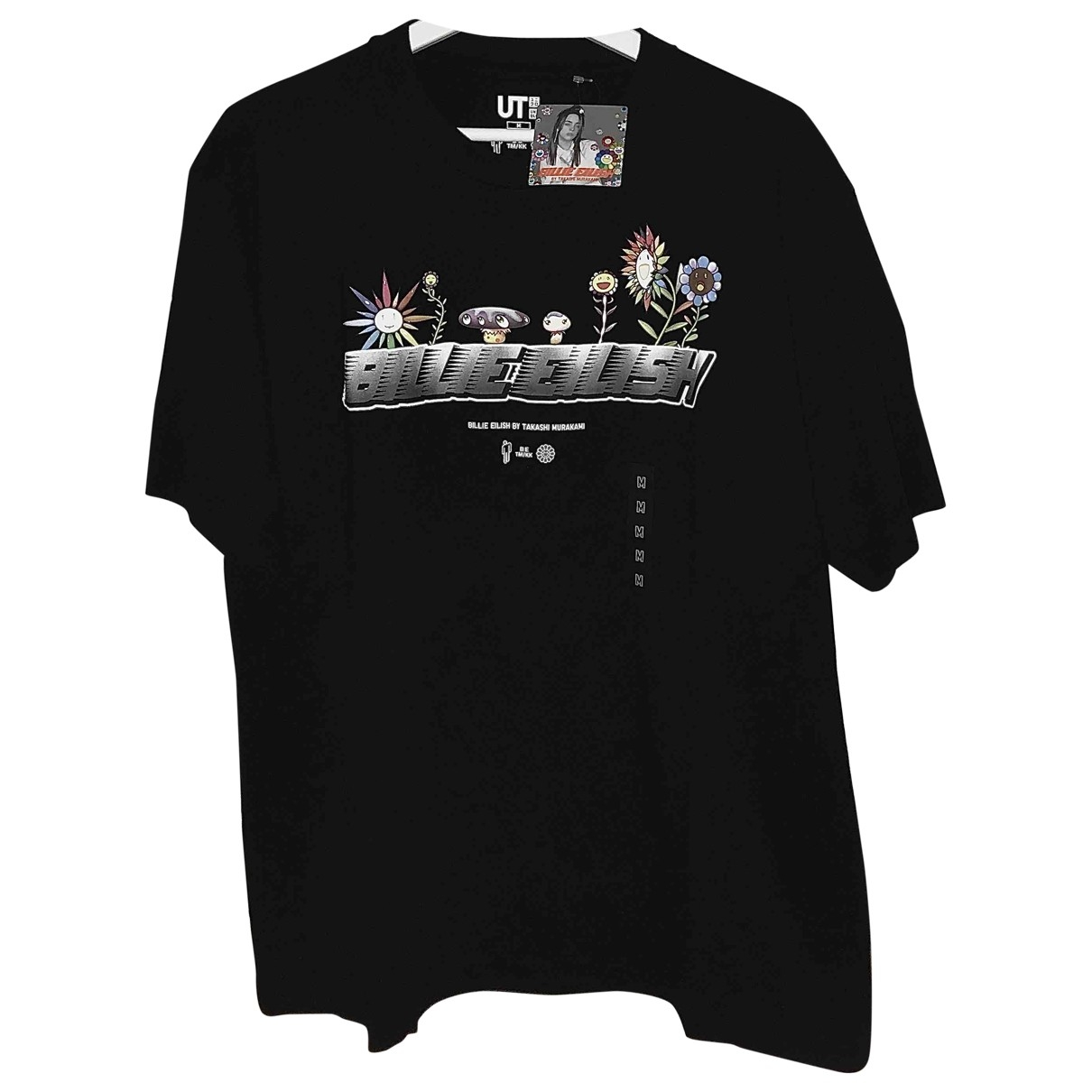 Uniqlo \N Black Cotton T-shirts for Men M International
