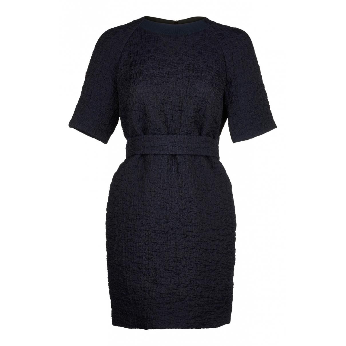 Victoria Beckham \N Kleid in  Marine Wolle