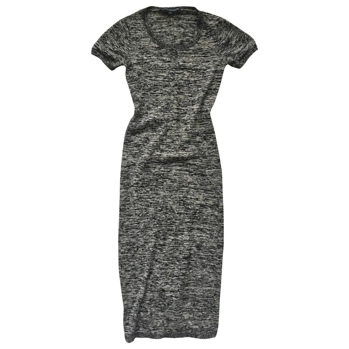 French Connection - Robe   pour femme en coton - noir
