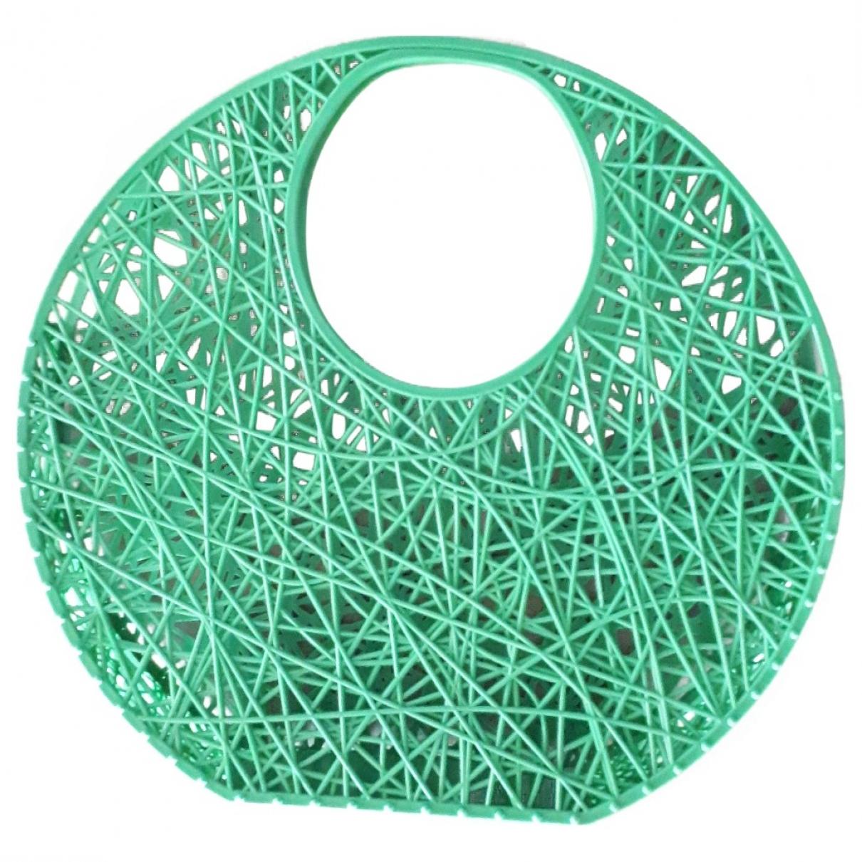 Bolso de mano en Plastico Verde Melissa