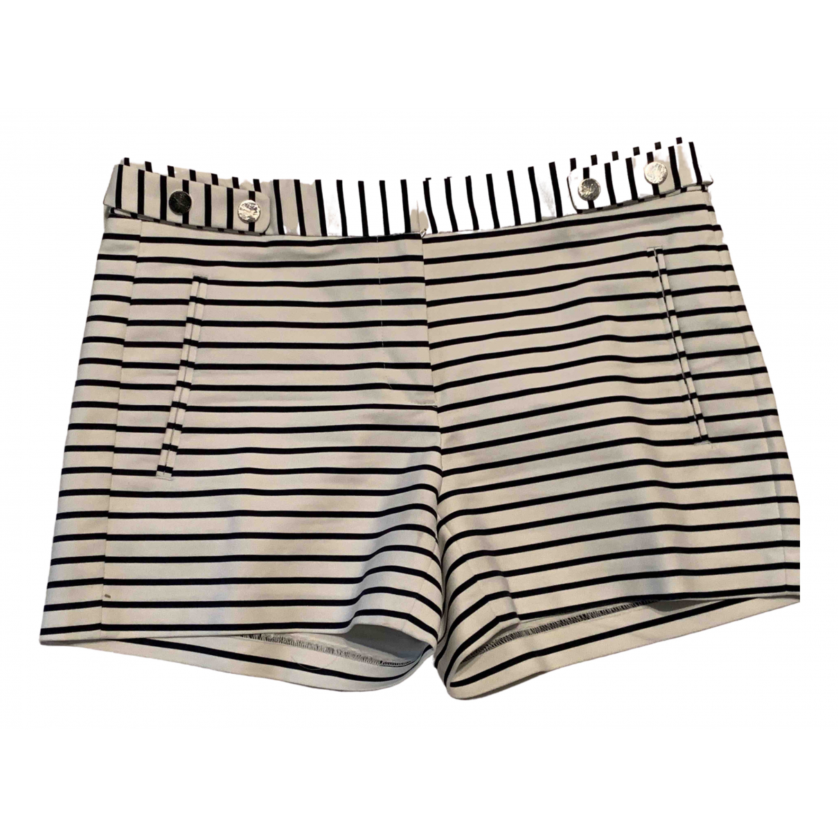 Zara \N White Cotton Shorts for Women S International