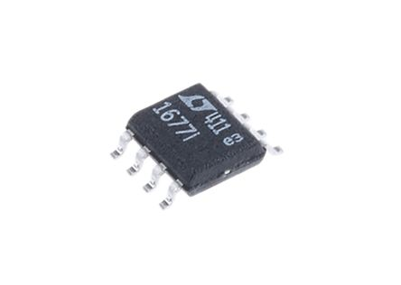 Analog Devices LT1677IS8#PBF , Op Amp, RRIO, 5.8MHz, 3 V, 8-Pin SOIC