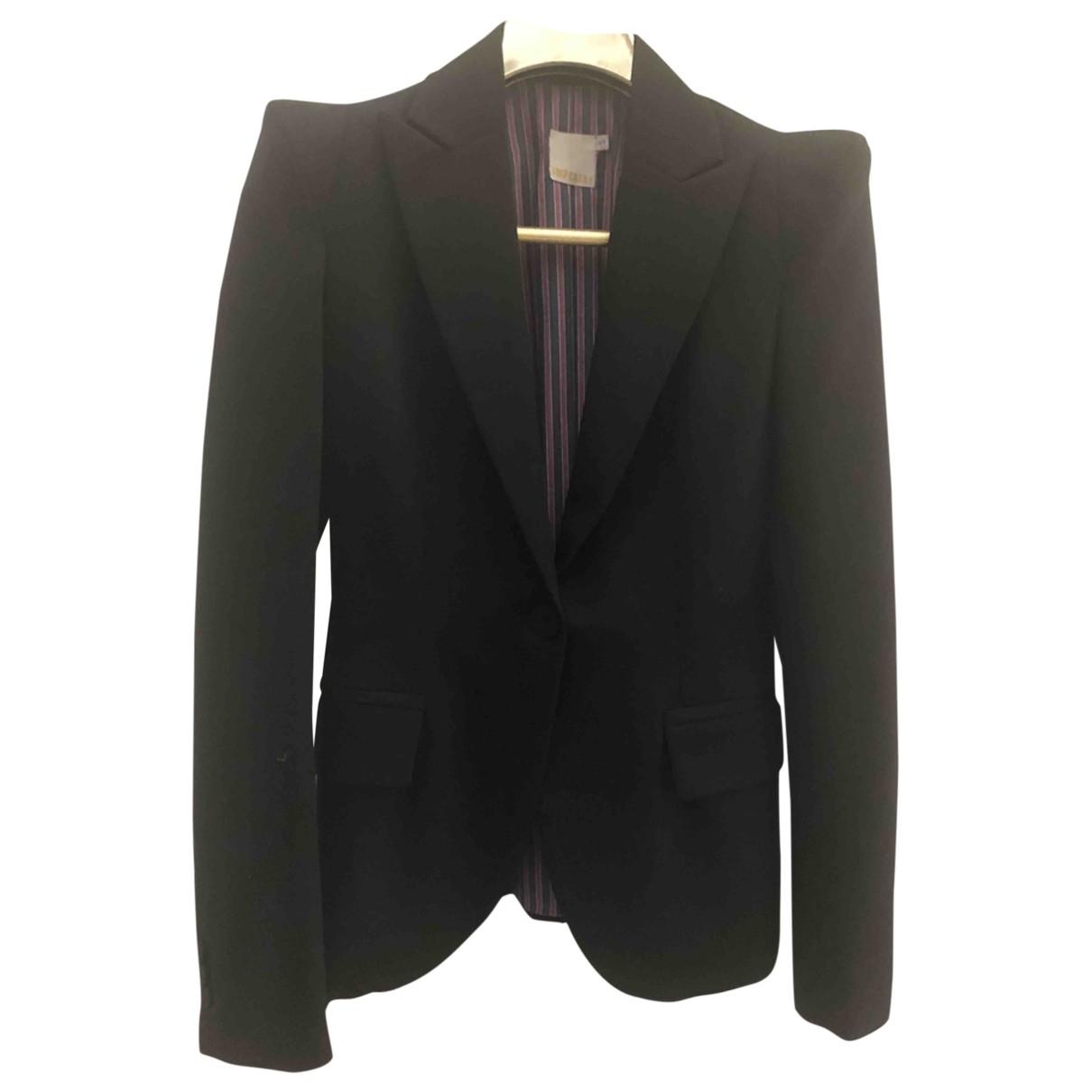 Imperial \N Jacke in  Schwarz Polyester