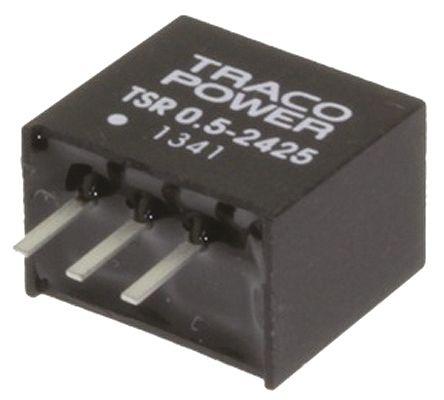 TRACOPOWER Through Hole Switching Regulator, 6.5V dc Output Voltage, 8 → 35V dc Input Voltage, 500mA Output