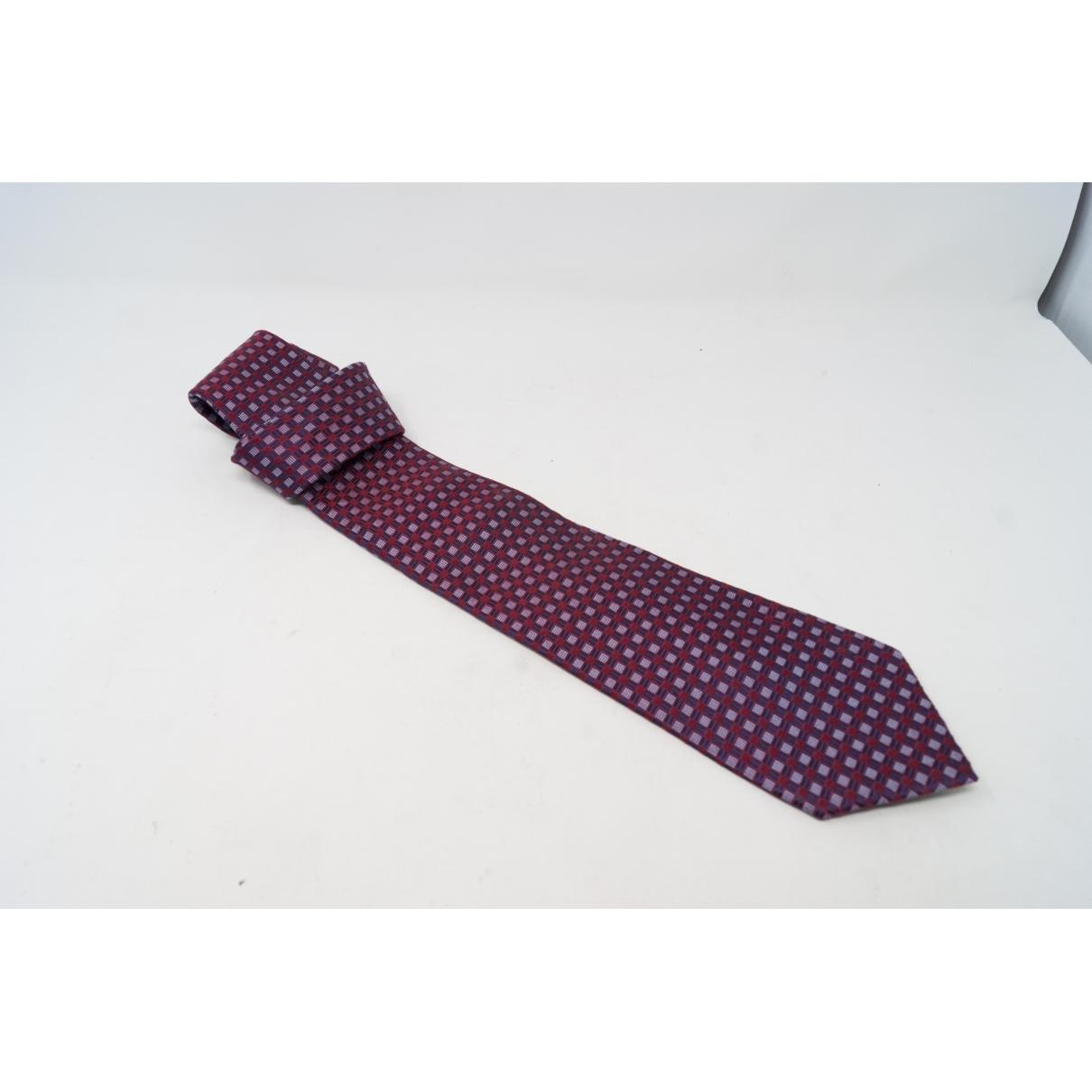 Valentino Garavani \N Krawatten in  Lila Seide