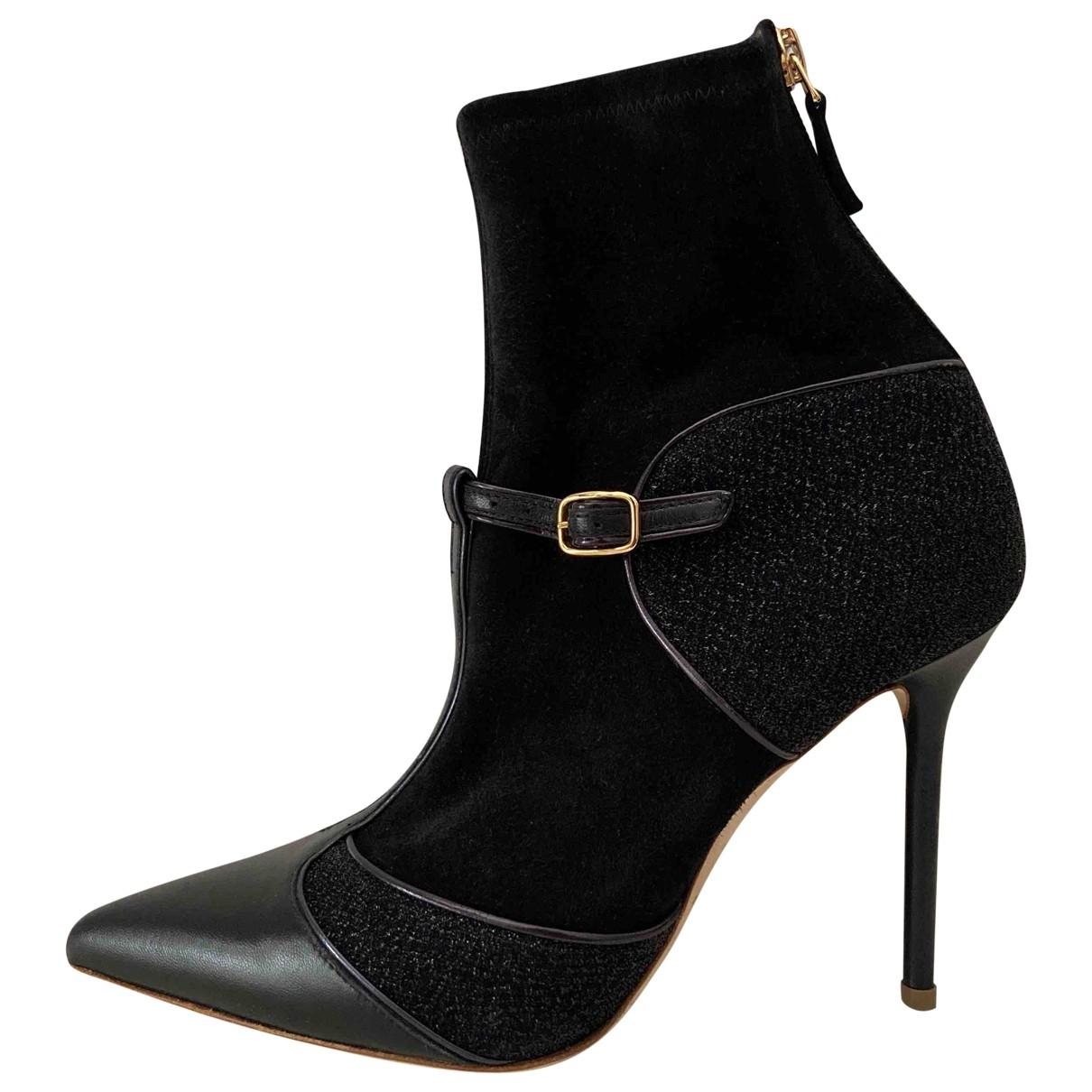 Malone Souliers - Boots   pour femme en suede - noir