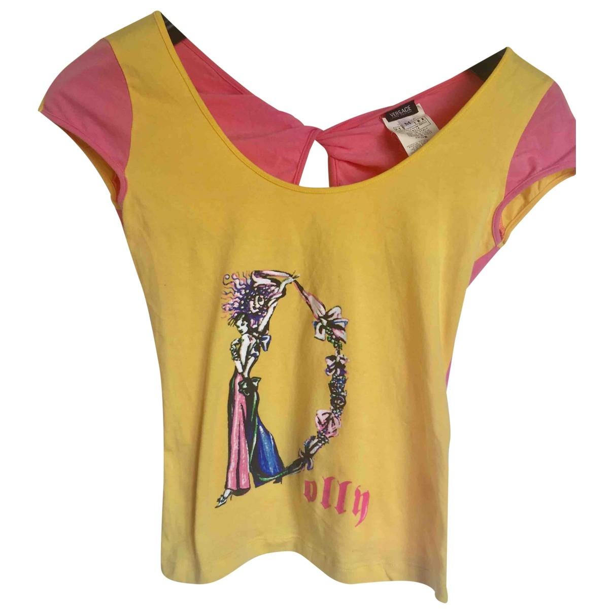 Versace Jean - Top   pour femme en coton - multicolore