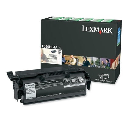 Lexmark T650H04A Original Black Return Program Toner Cartridge High Yield