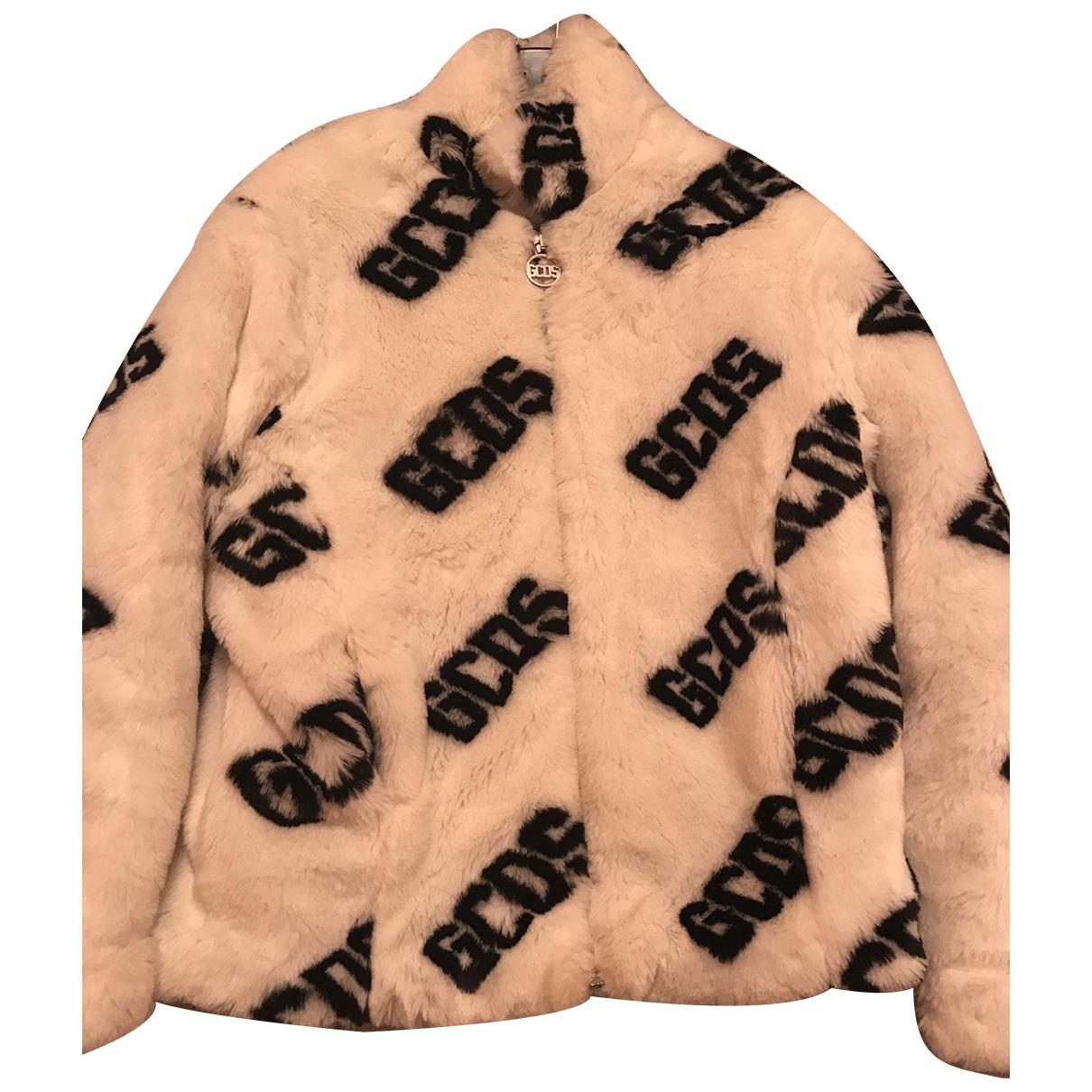 Gcds \N White Faux fur coat  for Men 46 IT