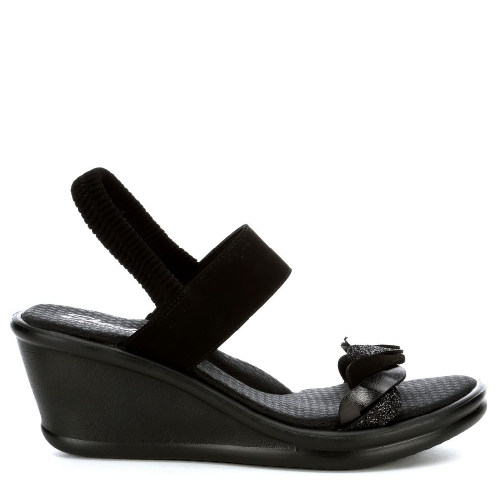 Skechers Womens Rumbler City Dash Wedge Sandal