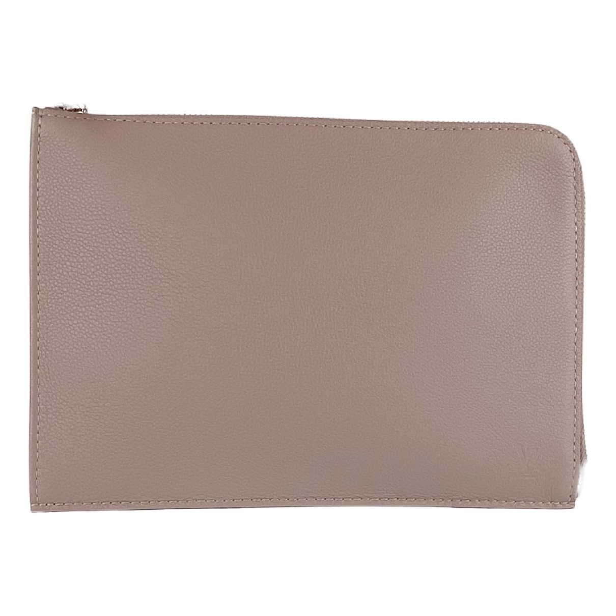 Louis Vuitton - Sac Pochette Jour GM pour homme en cuir - beige