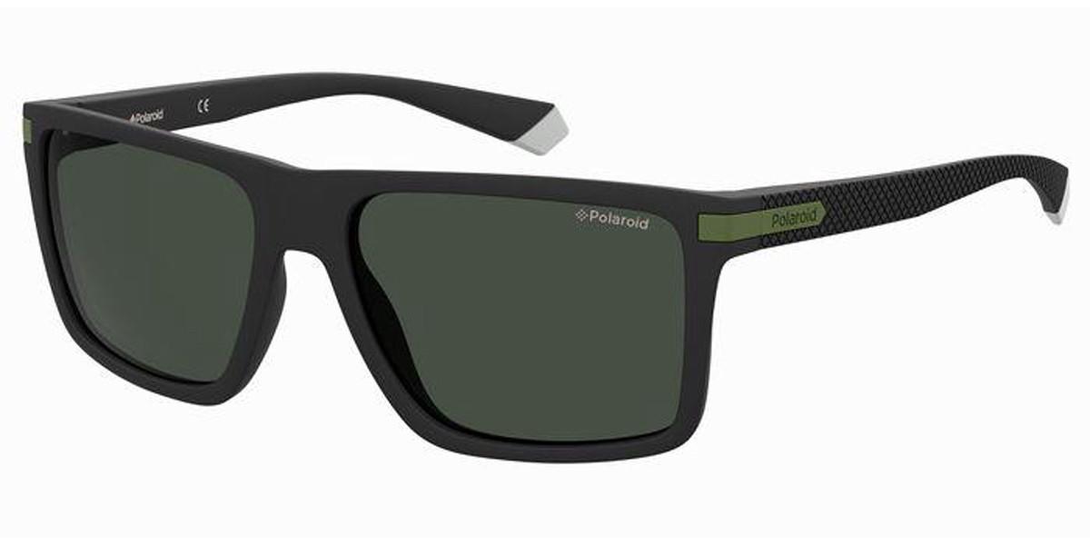 Polaroid PLD 2098/S 7ZJ/M9 Men's Sunglasses Black Size 56