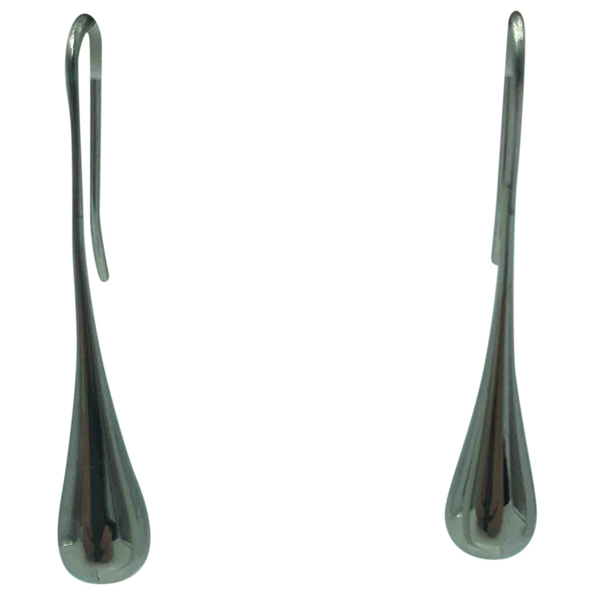 Calvin Klein \N OhrRing in  Silber Metall