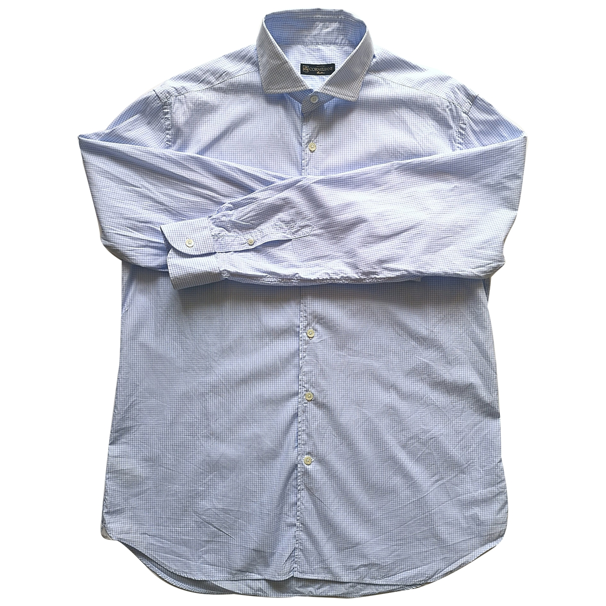Corneliani \N Hemden in  Blau Baumwolle