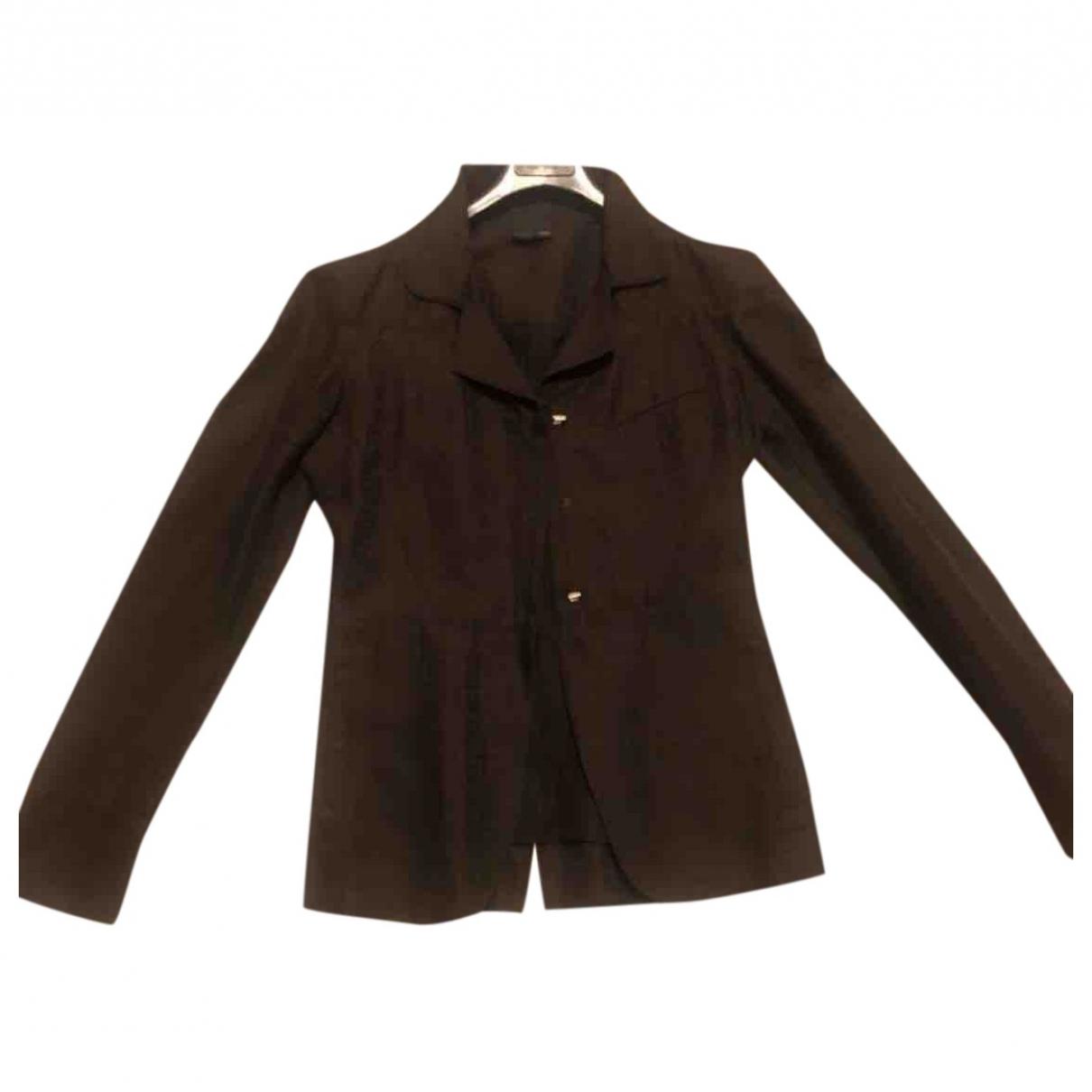 Fendi - Veste   pour femme en coton - marron