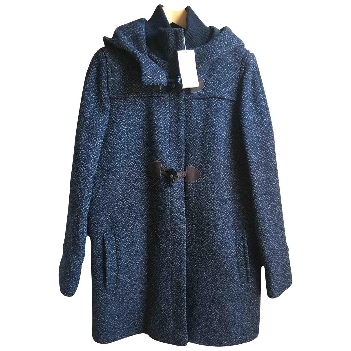 Vanessa Bruno Athe \N Black Wool coat for Women 44 FR