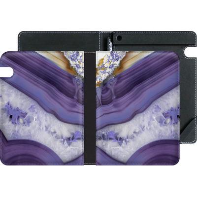 Amazon Kindle Voyage eBook Reader Huelle - Purple Agate von Emanuela Carratoni