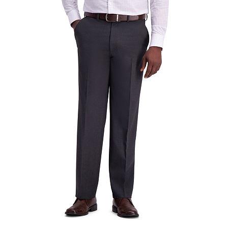 J.M. Haggar Classic Fit Stretch Suit Pants, 36 29, Black