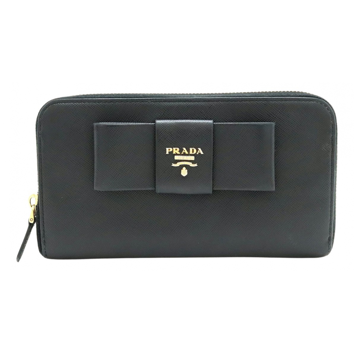 Prada N Black Leather wallet for Women N