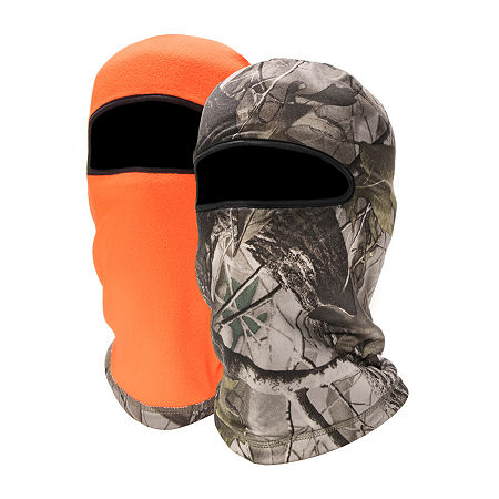 QuietWear Reversible Fleece Mask, One Size , Gray