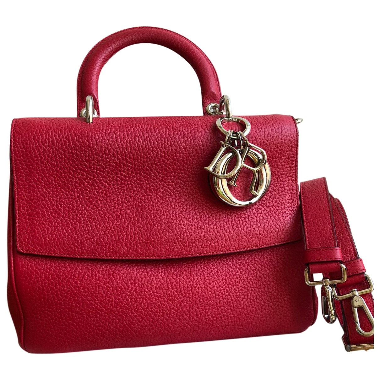 Dior Be Dior Red Leather handbag for Women \N