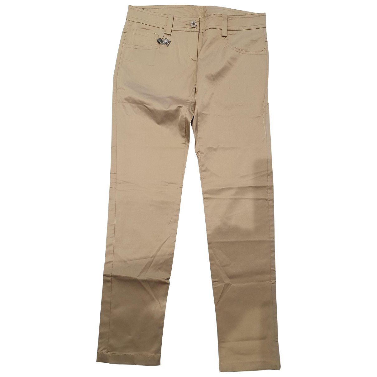 Patrizia Pepe \N Camel Trousers for Women 40 IT