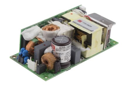 Mean Well , 76.8W Embedded Switch Mode Power Supply SMPS, 24V dc, Open Frame