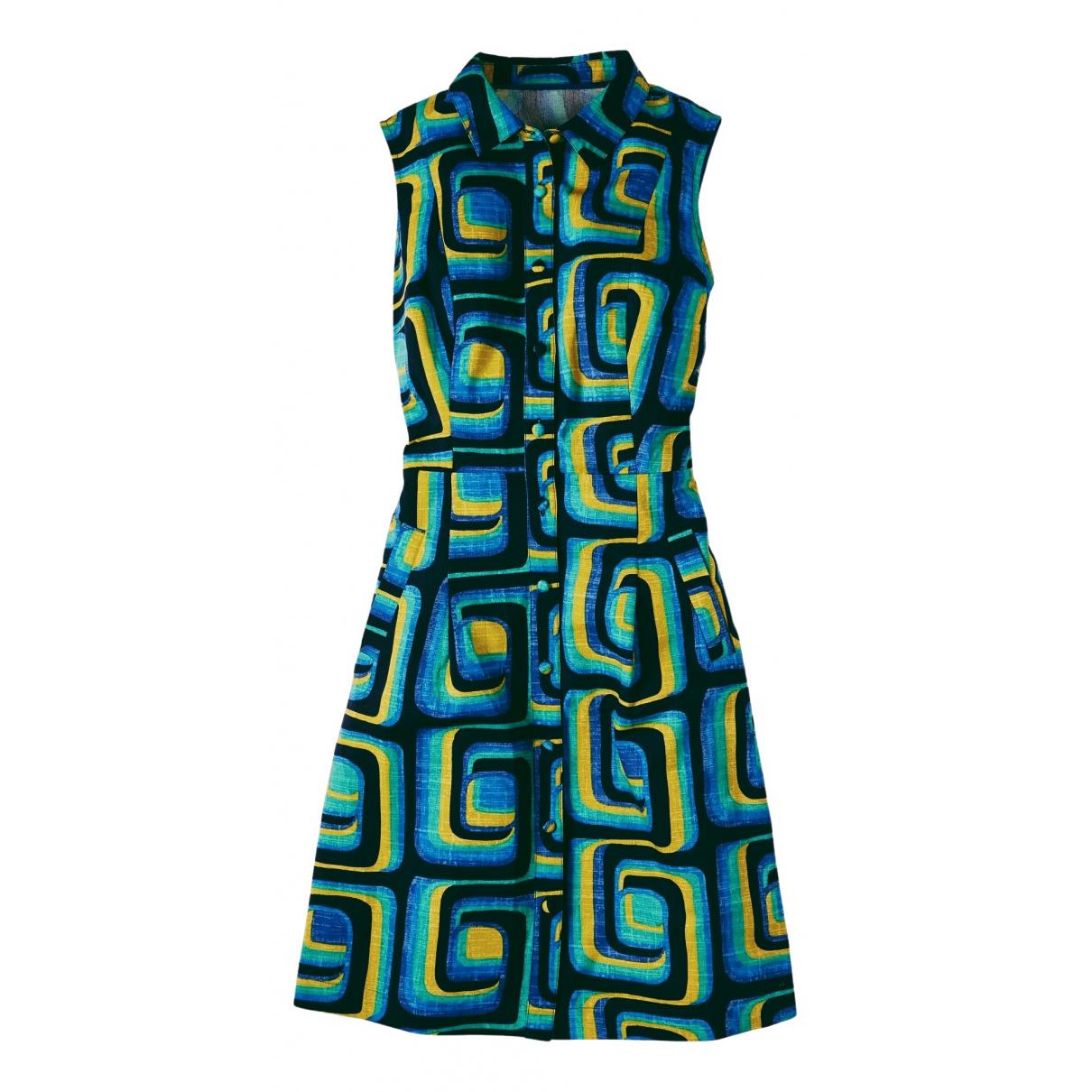 Boden \N Kleid in Baumwolle