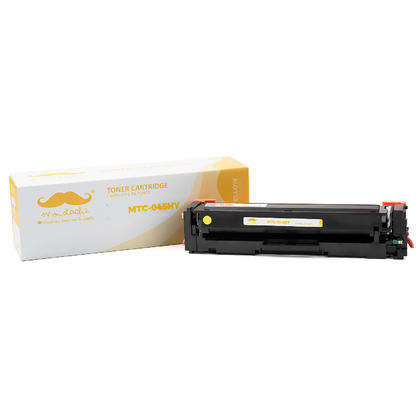 Compatible Canon ImageClass LBP611CN Yellow Toner Cartridge High Yield