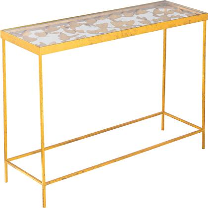 470-T Butterfly Gold Console