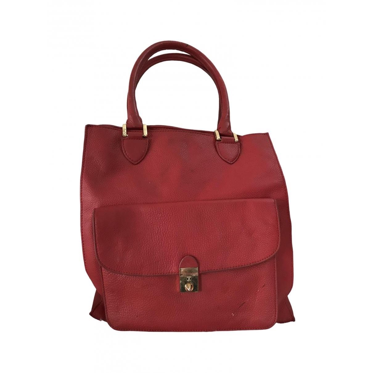 Tory Burch \N Red Leather handbag for Women \N