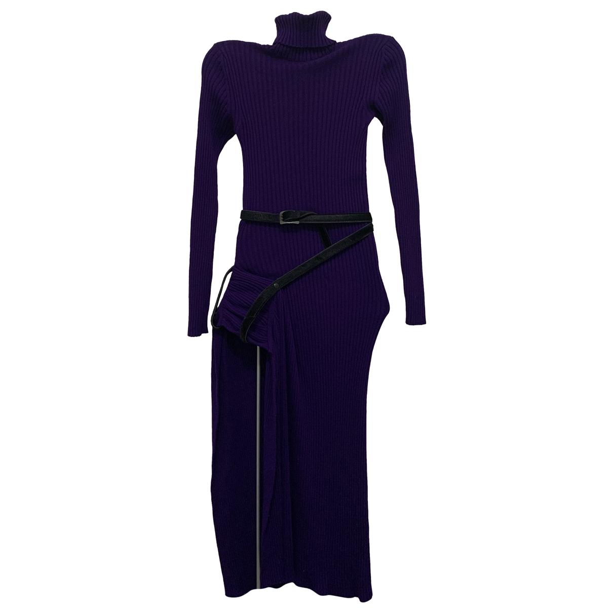 Vestido midi de Lana Jean Paul Gaultier